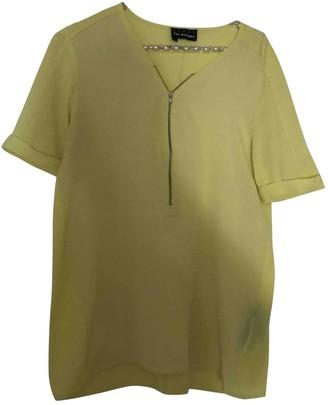 The Kooples Sport Yellow Top for Women