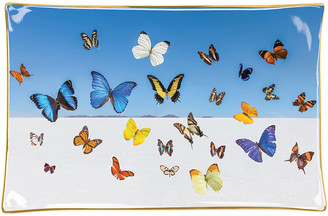 Gray Malin Butterflies Porcelain Tray