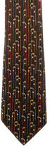 Salvatore Ferragamo Golf Print Silk Tie