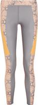 adidas by Stella McCartney Running Techfit® snake-print Climalite® stretch leggings