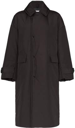 Hyke oversized collared coat