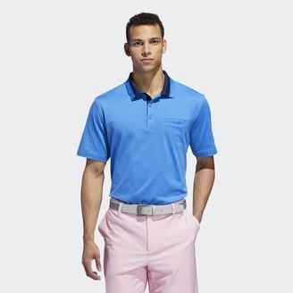 adidas Adipure Cotton Plated Polo Shirt