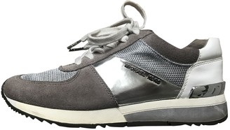 Michael Kors Grey Suede Trainers