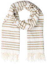 Rag & Bone Striped Fringe Scarf