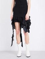 A.F.Vandevorst Embellished woven skirt