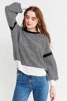 Urban Outfitters Striped Balloon Sleeve Sweater