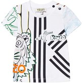 Kenzo All-Over Tiger Print Tee