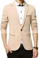Benibos Men's Slim Fit Casual Premium Blazer Jacket (XL, )