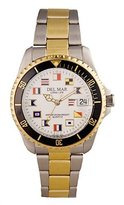 Del Mar Two-Tone Men's Nautical Diver's Watch