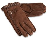 Nordvek Ladies 100% Sheepskin Gloves Wool Stripe Decoration Womens 310-100[,Medium 7]