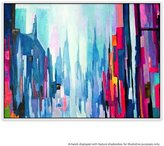 United Artworks Manhattan 7 Canvas Painting With Floating Frame