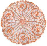 Heritage Lace® Frightful 24-Inch Round Doilies in Orange/Black