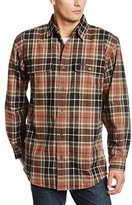 Carhartt Men's Rain Defender Youngstown Flannel Shirt Jacket Original Fit