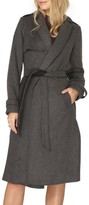 Dorothy Perkins Women's Bonded Belted Long Trench Coat