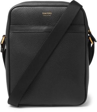 Tom Ford Full-Grain Leather Messenger Bag