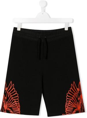 Marcelo Burlon County Of Milan Kids Wings shorts