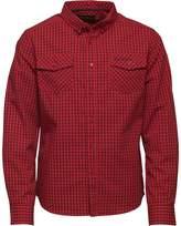 Ben Sherman Junior Boys Long Sleeve Shirt Fiery Red