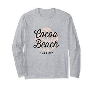 Cocoa Beach Florida - Cool Coastal Seashell Souvenir Long Sleeve T-Shirt