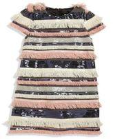 Milly Minis Toddler's, Little Girl's & Girl's Fringed Short Sleeve Dress