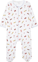 Magnolia London pima cotton baby-grow newborn-12 months