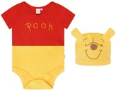 Disney Baby Winnie The Pooh Bodysuit With Hat
