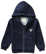 True Religion Little Boys 2T-7 Buddha French Terry Hoodie