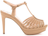 Fendi T-bar sandals - women - Calf Leather - 36