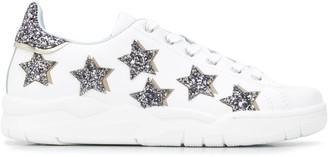 Chiara Ferragni Star-Embellished Sneakers