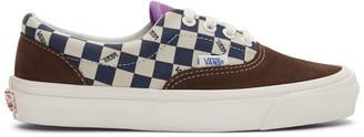 Vans Brown and Green OG Era LX Sneakers
