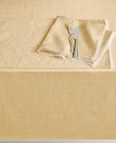 "Lenox French Perle Buttercup 60"" x 102"" Tablecloth"