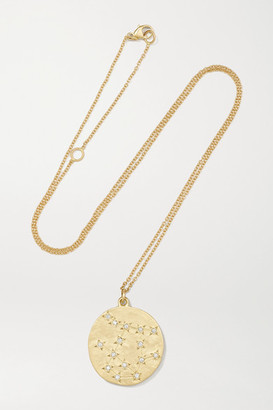 Brooke Gregson Gemini 14-karat Gold Diamond Necklace