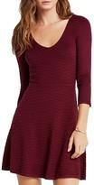 BCBGeneration Wave Stitch Sweater Dress