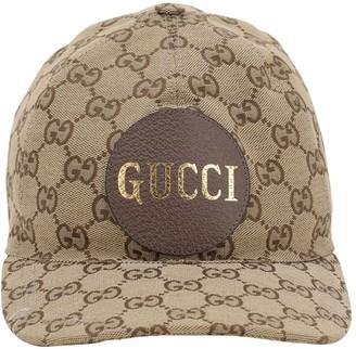 Gucci Gg Cotton Canvas Baseball Hat