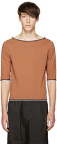 Telfar Brown Boatneck T-shirt