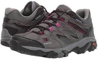 Hi-Tec Ravus Vent Low WP (Charcoal/Cool Grey/Amarath) Women's Shoes