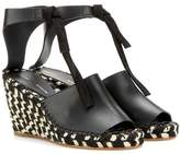 Proenza Schouler Leather wedge sandals