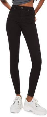 Topshop Black Jamie Skinny Jeans 30-Inch Leg