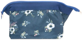 Flo Fashion Cosmetic Bag Blue Flower