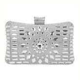 BAIGIO Women's Diamante Evening Clutch Wedding Clutch Purse Bridal Prom Handbag Party Bag