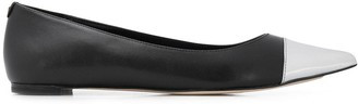 MICHAEL Michael Kors capped toe ballerina shoes