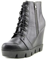 Mia Kendal Women Round Toe Synthetic Black Ankle Boot.