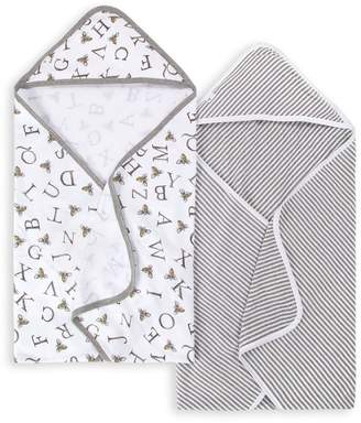 Burt's Bees A-Bee-C Organic Baby Hooded Towels 2 Pack