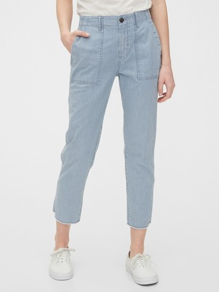 Gap High Rise Utility Khakis