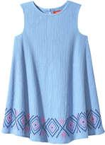Joe Fresh Toddler Girls' Tent Dress, Blue (Size 2)