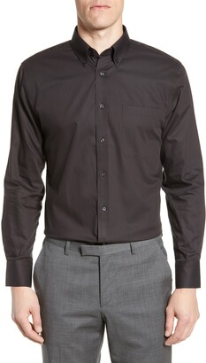 Nordstrom Trim Fit Non-Iron Dress Shirt