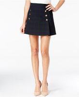 XOXO Juniors' Plaid A-Line Mini Skirt