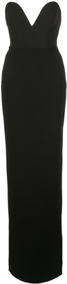 SOLACE London Sleeveless Sweetheart Neck Dress