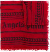 Palm Angels geometric print scarf - men - Modal/Cashmere - One Size