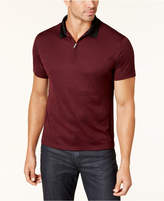 Alfani Men's Zip-Up Tech Polo, Created for Macy's