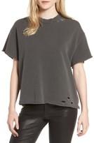AG Jeans Women's Diana Distressed Sweatshirt